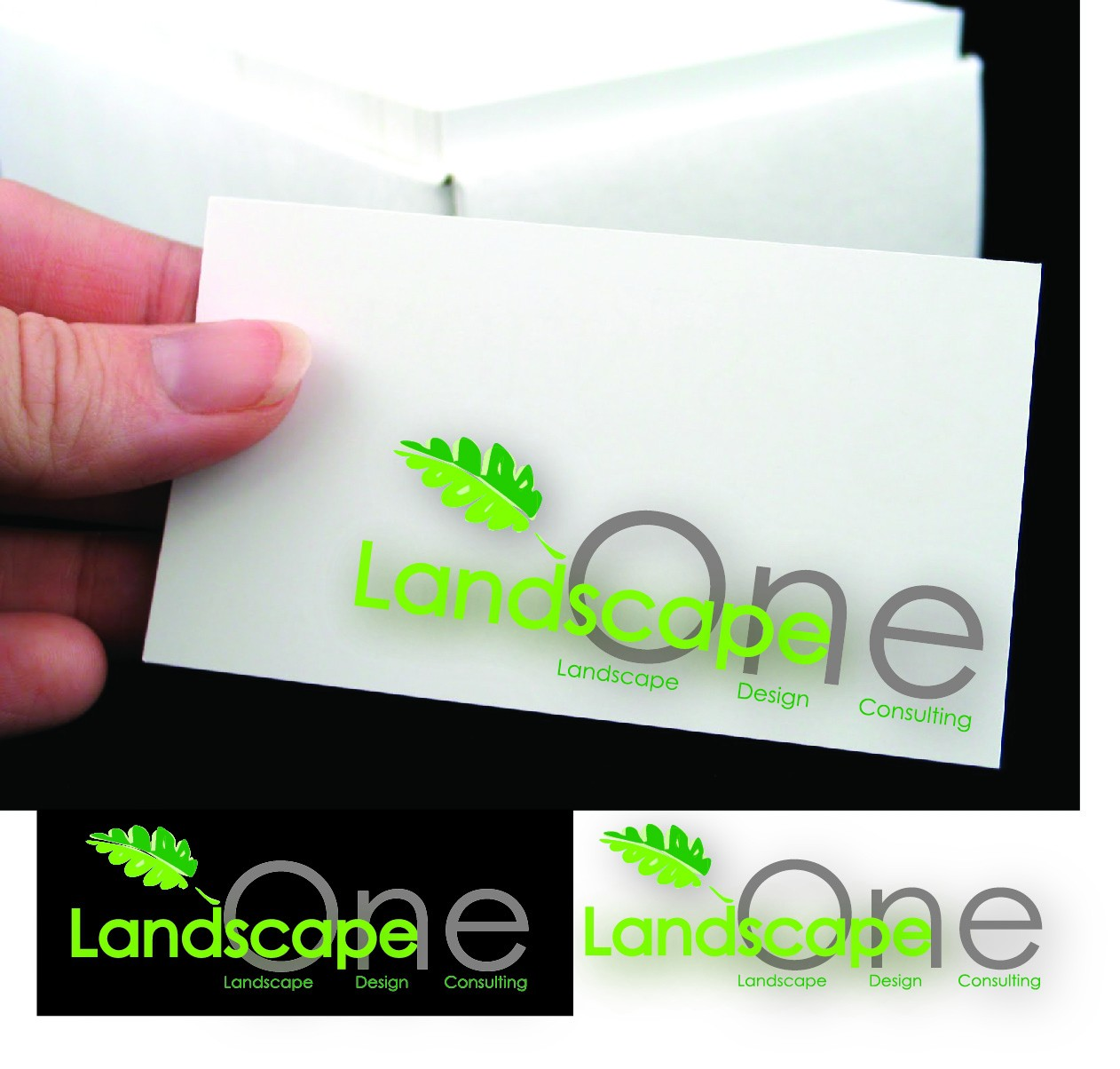 Help Landscape One with a new logo