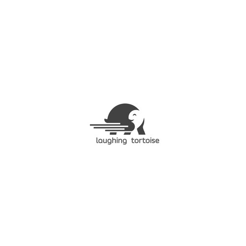 Laughing Tortoise Logo Design