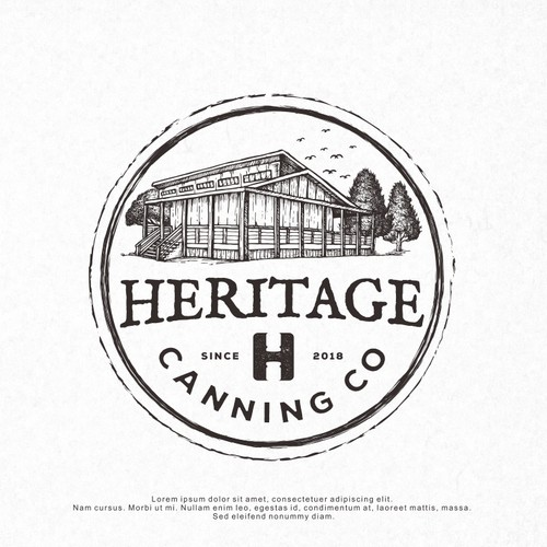 Logo Design for Heritage Canning Co