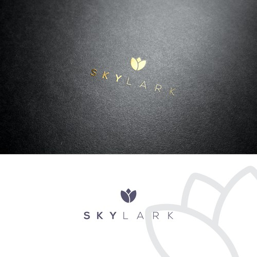 natural and organic cosmetic logo,