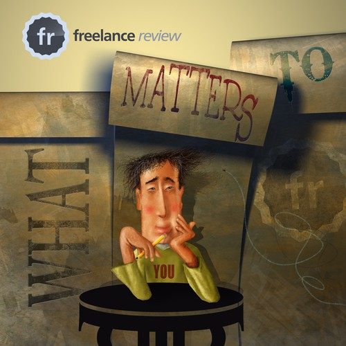 Insane Poster Contest for Freelance Review Site