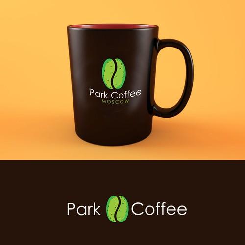 A breezy logo for coffee shop