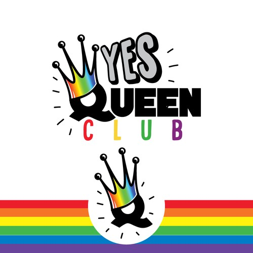 queen club logo