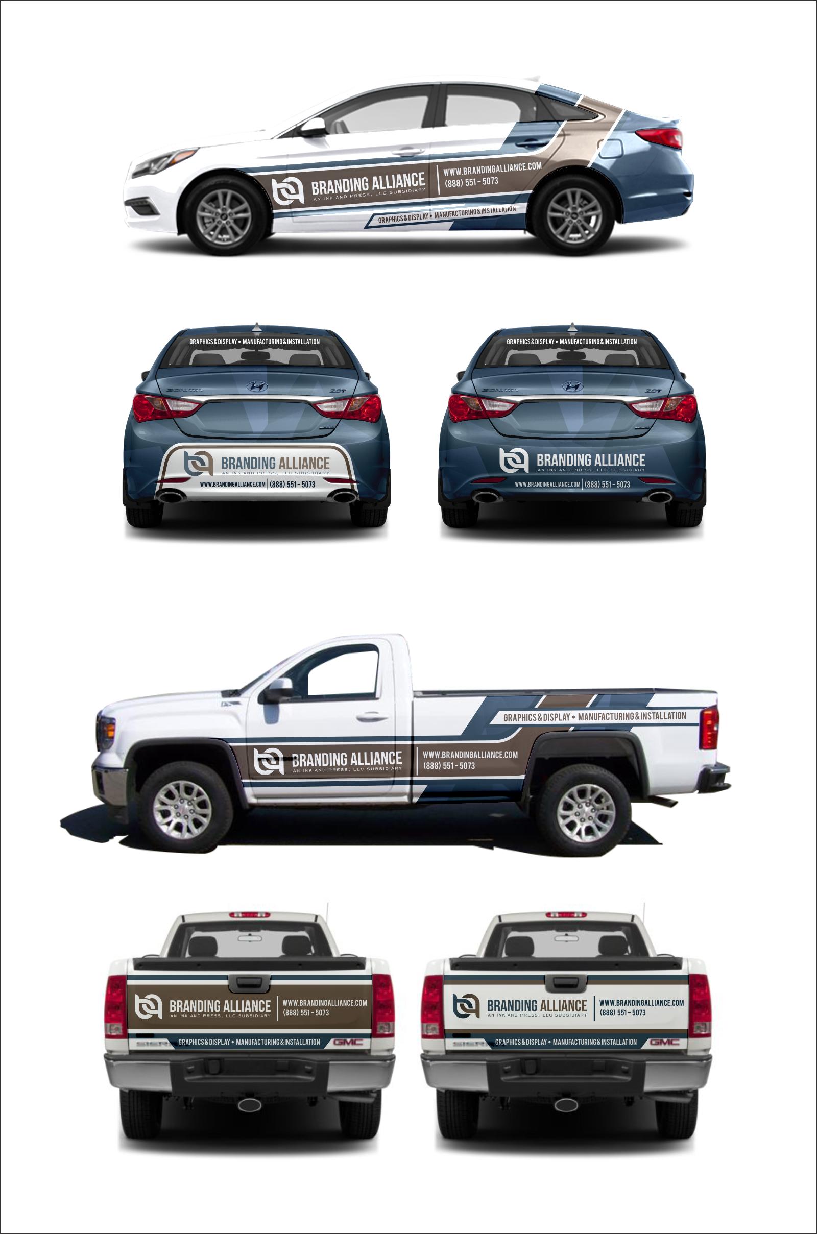 Informative & Stylish - High Impact Vehicle Wrap Design