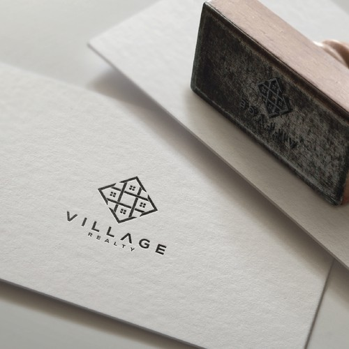 Logo concept for Village Realty