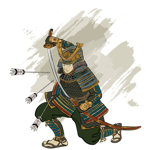 samurai illustration
