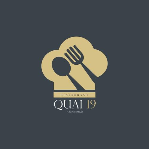 Quai 19 restaurant logo