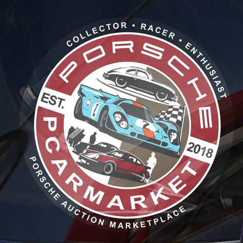 PCARMARKET PORSCHE DECAL