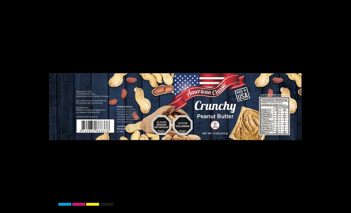 AC Peanut Butter - spanish labels