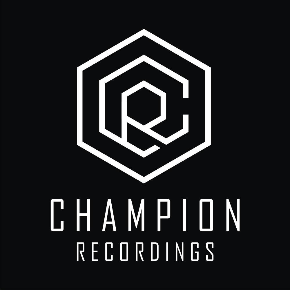 Design a modern powerful logo for Champion Recordings