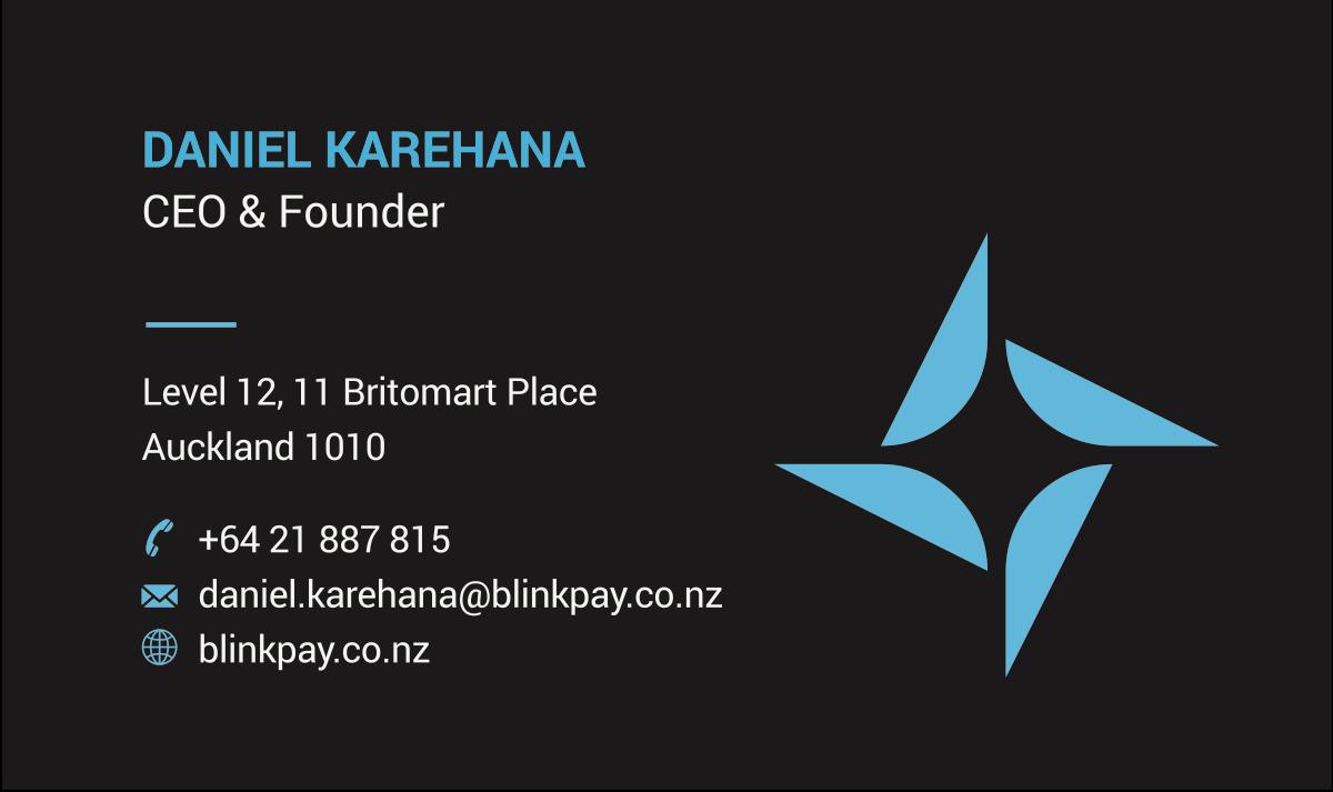 BlinkPay Business Cards