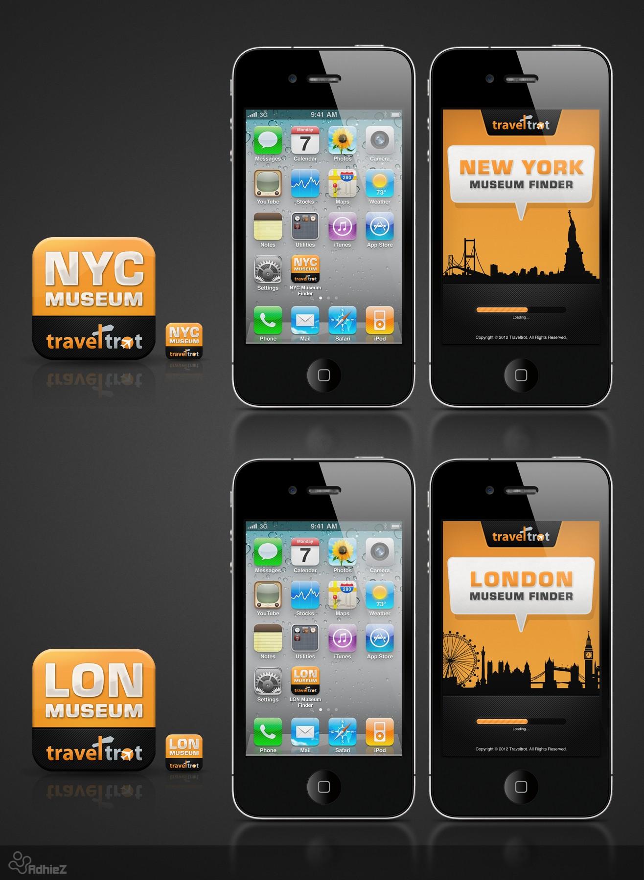 Quick App Design for TravelTrot's Museum Finder -  Fast Feedback!