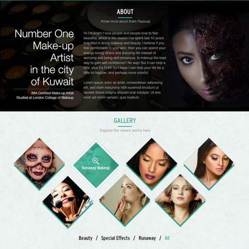 Design for Aram Razouqi - Fashion Stylist