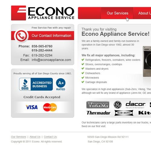 Econo Service Page
