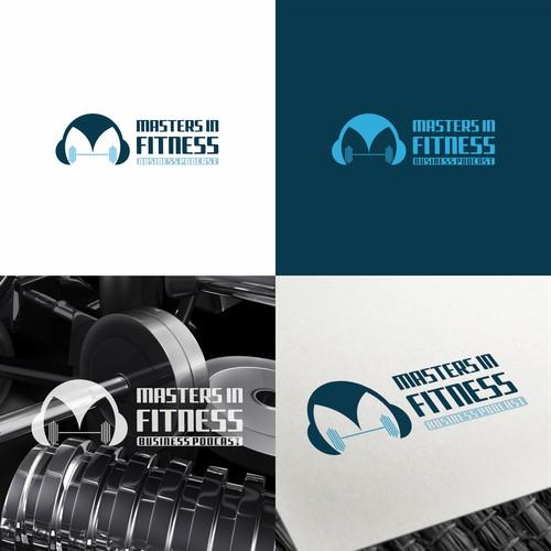 Fitness podcast design