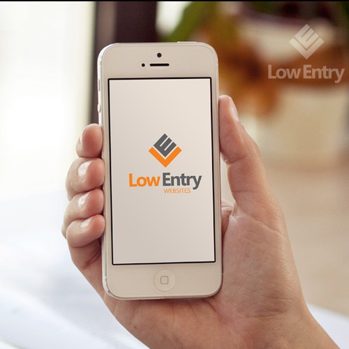 Design a simple and meaningful logo for software development company Low Entry