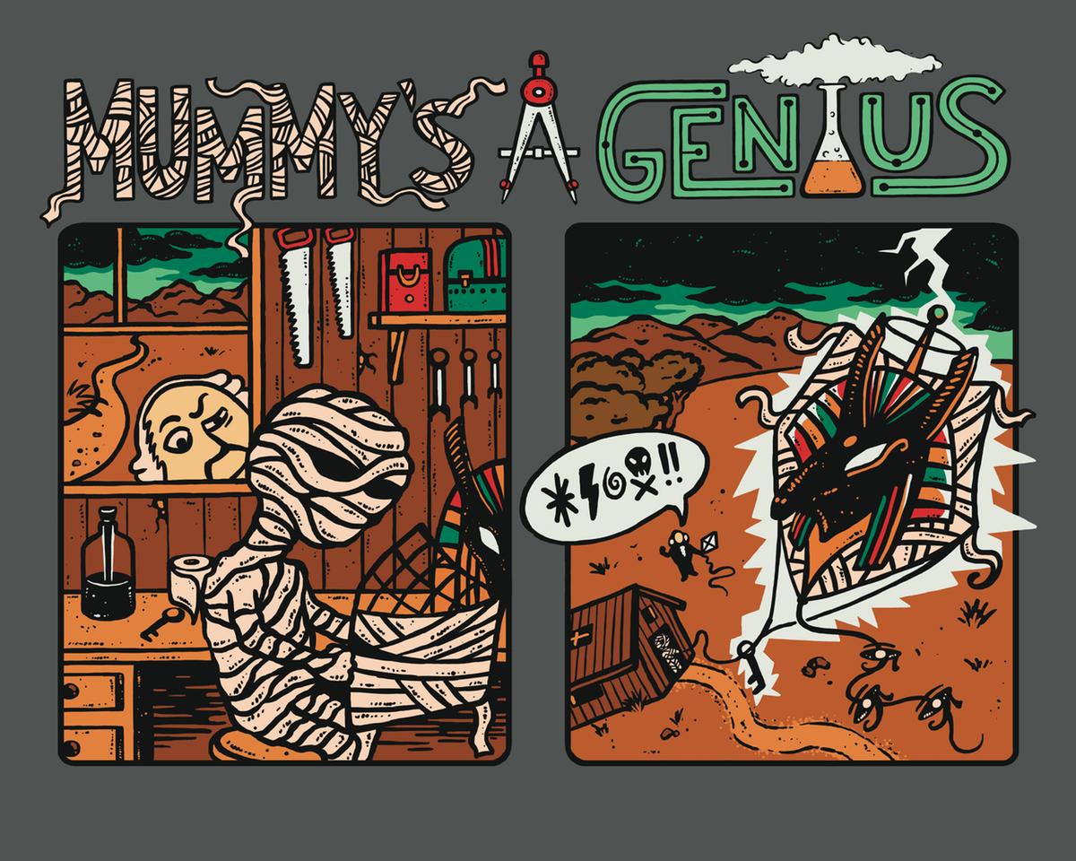 Mummy's A Genius - Ben Franklin