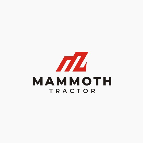 Design a company logo for ag and heavy equipment dealership Mammoth Tractor