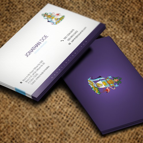 Business Card Option
