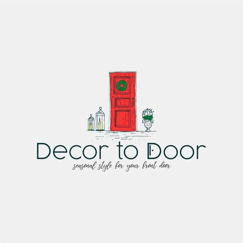 Logo concept for Decor to door