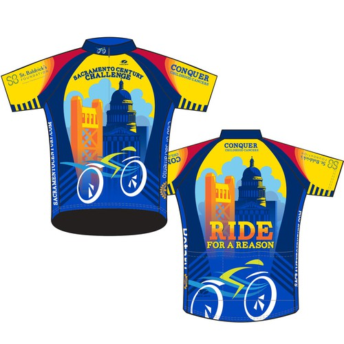 Cycle Jersey Design