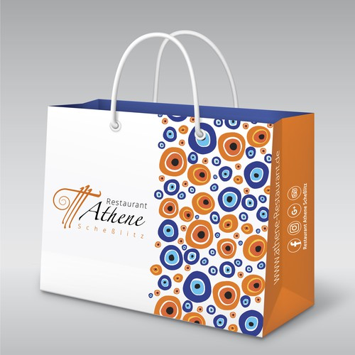 shopping bag for restaurant