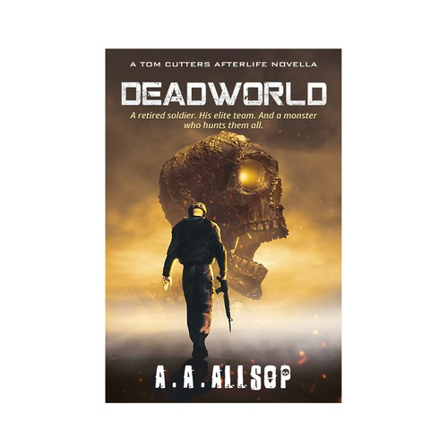Deadworld Book Cover Design