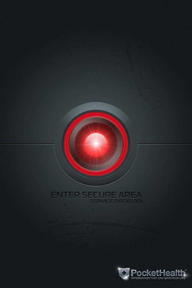 Futuristic HiTech Security Door Design Needed: Secret Lab iPhone App
