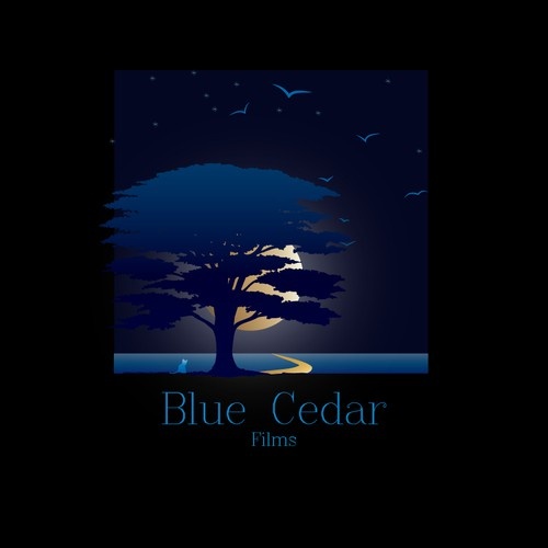 Film Production Company: design 'Blue Cedar Films' new Logo.