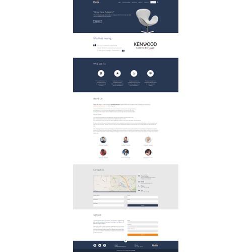Pivot Hearing website