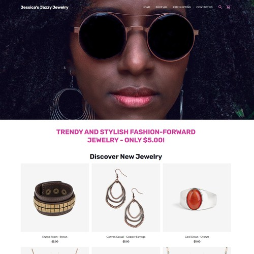 Square Online Store: Jewelry Shop