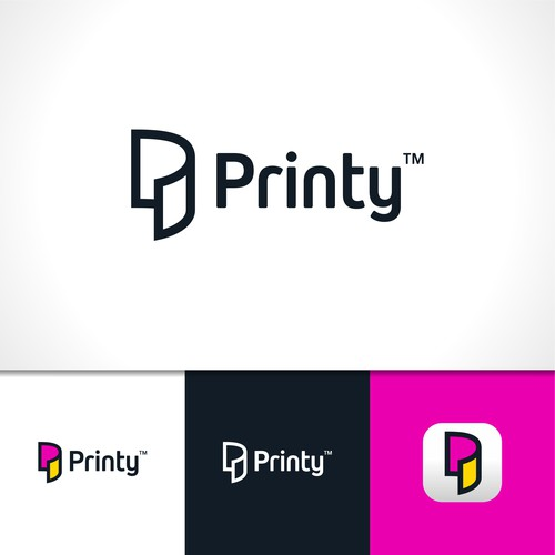 Logo Concept for Printing Apps