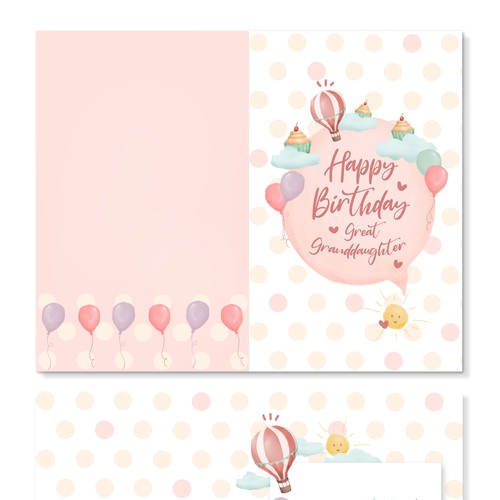 Feminine and chic greeting cards
