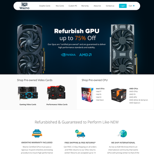 Landing Page for SELLGPU subdomain buy.sellgpu.com