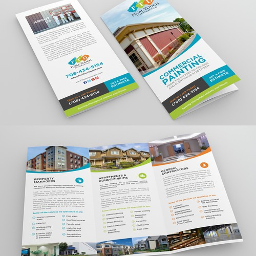 Modern Brochure for FTD