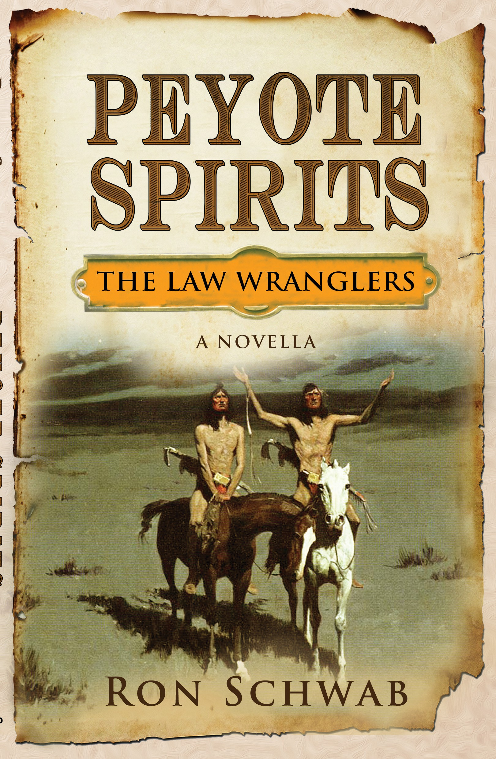 """Ebook and print cover for Law Wranglers novella, """"Peyote Spirits"""""""