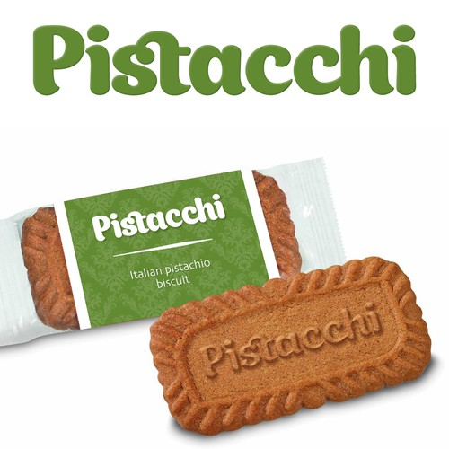 A Brand new Luxurious Italian Pistachio Biscuit Packaging needed to be accompanied with an Espresso