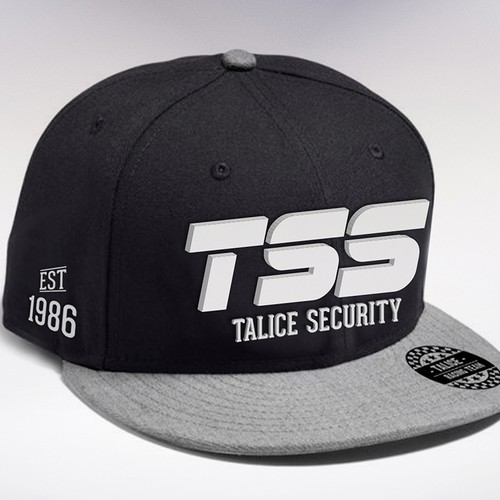 SnapBack hat for Talice Security Sponsored Motor racing team