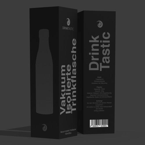 Bottle Packaging for Drinktastic