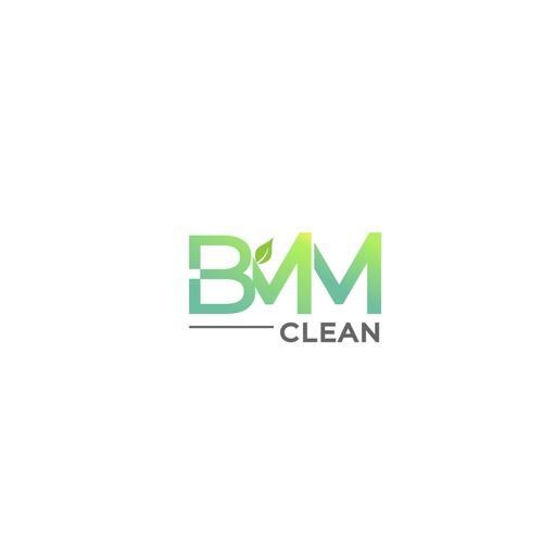 Logo design concept for BMM Clean