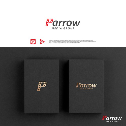 Parrow video production company logo