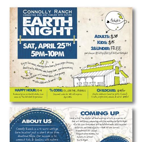 Earth Night - Farm-festival fundraiser