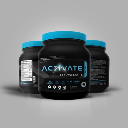 Activate label design