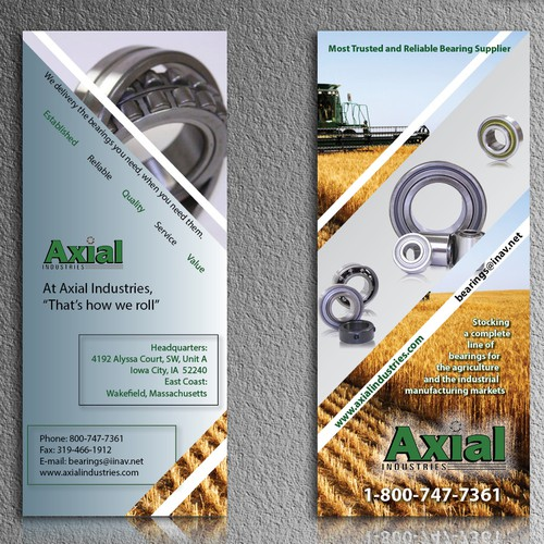 brochure design for PrintGraphics