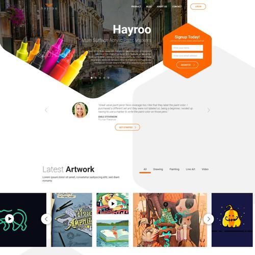 Art & craft website