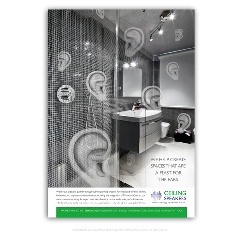 Celing Speakers Bathroom Campaign Extension