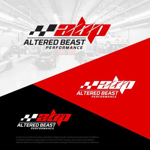 Altered Beast Performance logo design