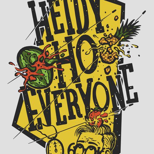 T-shirt design for Mr. Fruit