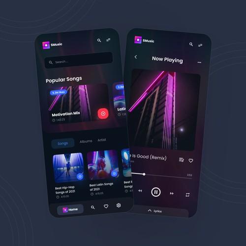Music Player Mobile Ap