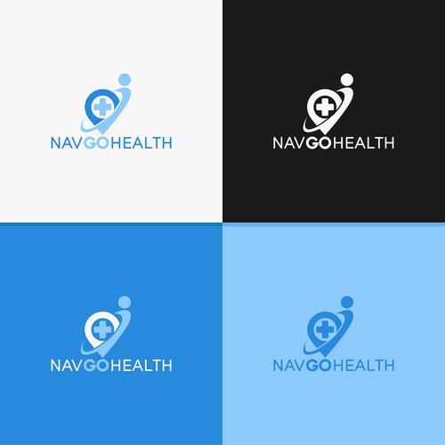Logo concept for NavGoHealth